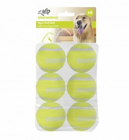 AFP Interactive Hyper Fetch Balls, 6 pk, 5 cm
